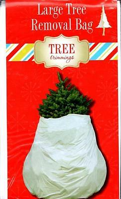 LARGE (144x90 inch) CHRISTMAS DECORATION TREE REMOVAL DISPOSAL BAG
