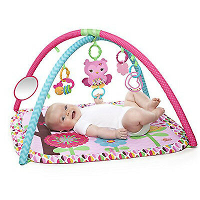 Baby Play Mat Activity Gym Soft Floor Musical Toy Toddler Playmats Pink Pretty