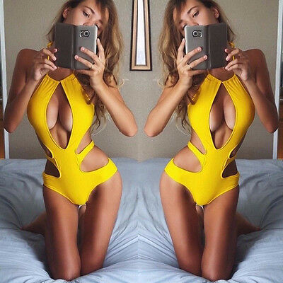 Women's Swimwear One Piece Swimsuit Monokini Push Up Padded Bikini Bathing Suit