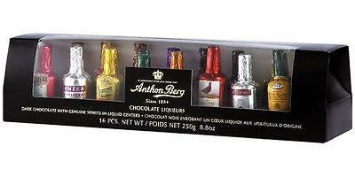 Anthon Berg Chocolate Liqueurs 250g (16-Piece)