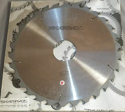 """SKARPAZ Ripping 16"""" Saw Blade 30 Tooth 3-1/4"""" Bore 20ST Carbide New"""