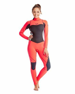 NEW ROXY™  Womens Syncro 4/3mm GBS Steamer Wetsuit Womens Surf