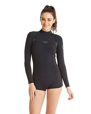 NEW ROXY™  Womens Syncro 2/2mm Long Sleeve Springsuit Wetsuit Womens Surf