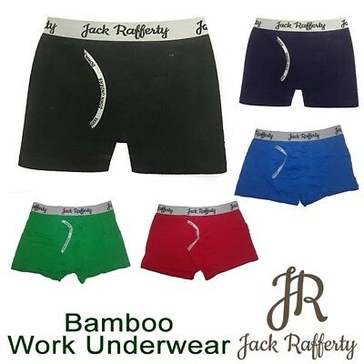Bamboo Work Underwear - Jack Rafferty - Men Undies Jocks Brief Boxer Comfortable