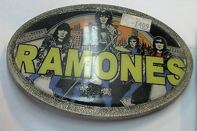 Ramones Collectable Rare Vintage Belt Buckles 2006 Metal Live Punk  Johnny