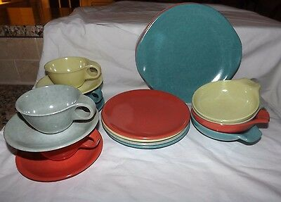 20-Piece Set (Service for 4) Russel Wright Residential by Northern Dinnerware