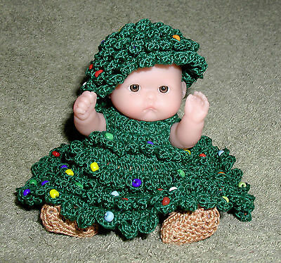 "Christmas Tree Itty Bitty Baby - 5"" Lots to Love Babies"