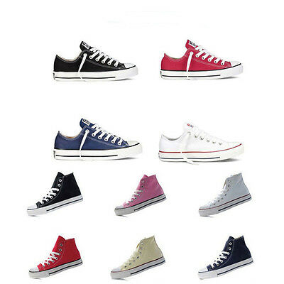 Hot!Men Women ALL STARs Chuck Taylor Ox Low Top Canvas Flats Shoes Sneakers