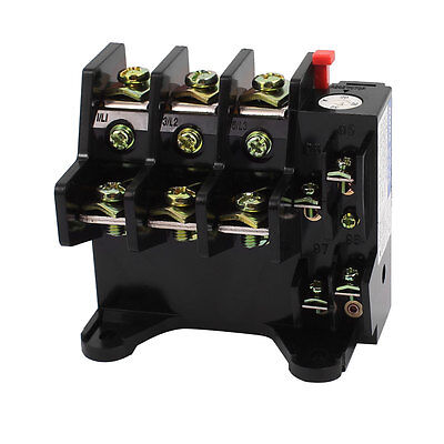 JR36-63 AC 690V 20A-32A Adjustable Current Range 3 Phase Thermal Overload Relay