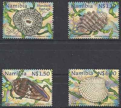 Timbres Coquillages Namibie 856/9 ** lot 16701