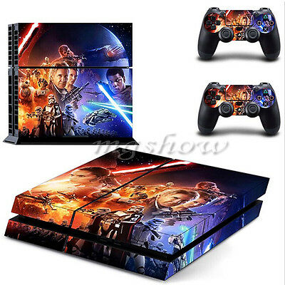 Sticker Star Wars Episode for PS4 Playstation 4 Console Skin Vinyl 2 Controller