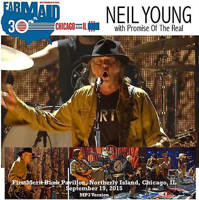 NEIL YOUNG + PROMISE OF THE REAL - FARM AID, CHICAGO September 19, 2015 (DVD)