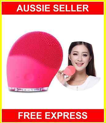 Electric Face Wash Cleaner Machine Facial Cleansing Brush Spa Skin Care Massage