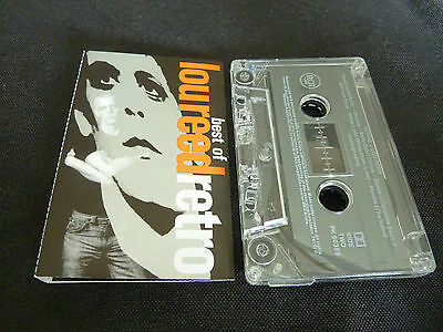 Lou Reed The Best Of Retro Ultra Rare Aussie Cassette Tape!