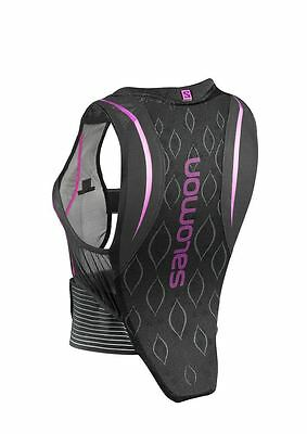 Salomon Womens Flexcell Back Protector 2017 Black / Purple