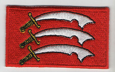 ESSEX County Flag - Iron On Sew On High Quality Patch
