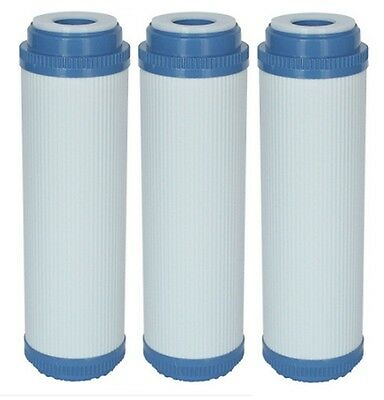 "3 X 10"" Granular Activated Carbon GAC Water Filter Cartridge, RO Reverse Osmosis"