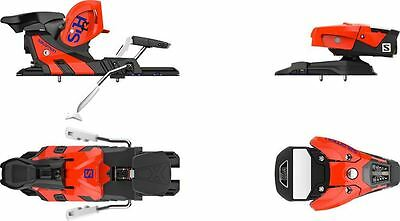 Salomon STH2 WTR 13 2017 Ski Bindings Orange / Black 115mm