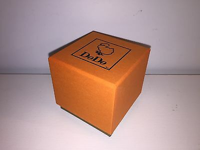 New - DODO - Estuche Box Case Scatola - Carton Paper - Orange