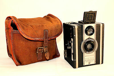 C1937 Vintage Coronet Camera D20 Synchronised Model in VGC (No Strap!)