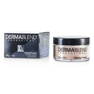 Dermablend Loose Setting Powder (Smudge Resistant, Long Wearability) - Cool 28g