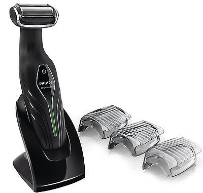 *NEW* PHILIPS BG2036/32 Mens Waterproof +Body Back Hair Trimmer Shaver Groomer