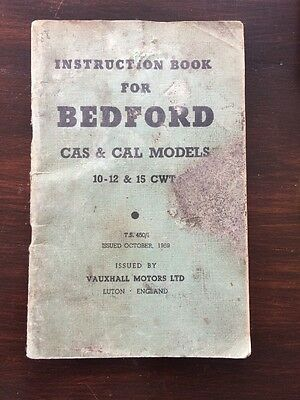 Instruction Book For Before CAS & CAL Models