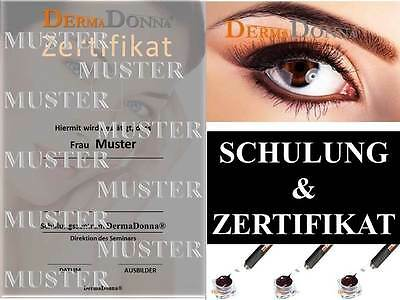 Schulung Microblading - Manuell Pen Permanent Make up Gerät Inklusive Mega-Set