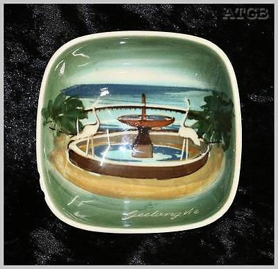 Vintage Studio Anna Geelong VIC hand painted small finger bowl 8cm across