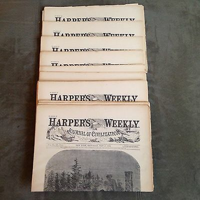 HARPERS WEEKLY Newspaper - May 17, 1862 - Reprint