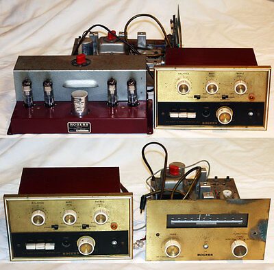 Rogers cadet II Stere tube amplifier, pre amplifier and tuner. Spares or repair.