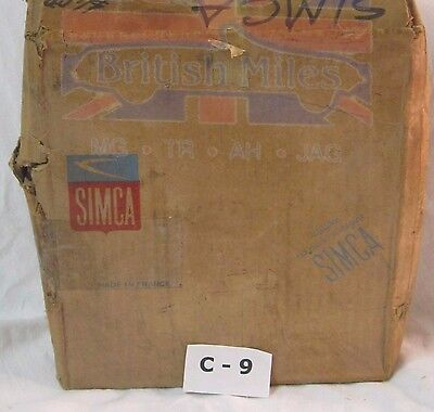 Simca Early Three Foot Pressure Plate And Discs