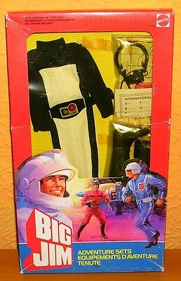 Big Jim Adventure Set OVP Equipment Zubehör Mattel Communications agent