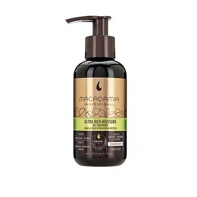 Macadamia Ultra Rich Moisture Oil Treatment 4.2 oz. w/Free Samples!!!