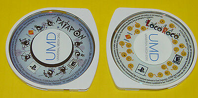 Patapon & LocoRoco Dual Pack for PSP Portable    ***LOW PRICE***   2 Games