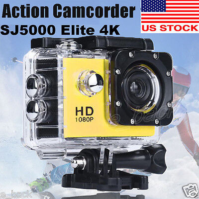 SJCAM SJ5000 Action Sport Camcorder 12MP HD 1080P Camera Sport DV Waterproof Cam