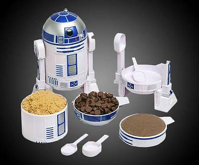 Star Wars R2-D2 Measuring Cup Set NEW