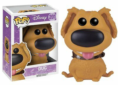 Funko Pop Movies Disney: Up - Dug - Vinyl Action Figure 201 Collectible Toy 8742
