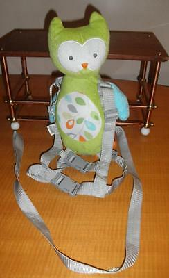 Child of Mine Carter's Unisex Owl backpack harness safety leash plush toddler