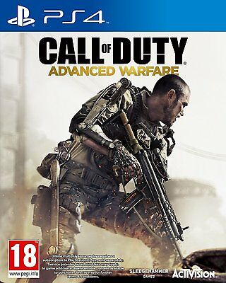Call of Duty - Advanced Warfare For PAL PS4 (New & Sealed)