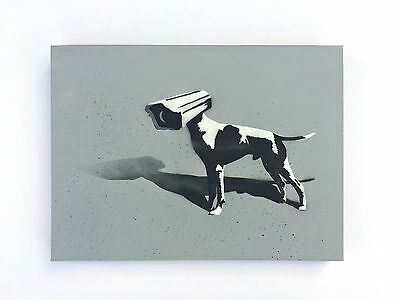 PETESTREET PETEST Signed Canvas • banksy MBW obey Stencil