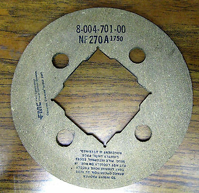 Stearns Brake Friction Disc Part 8-004-701-00  5-66-8472-00