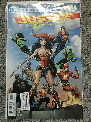 JUSTICE LEAGUE 1 Gary Frank Fried Pie Color Variant Cover Rebirth DC Comics 2016