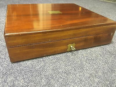 Quality Antique Mahogany Gun Case. Open To Offers.
