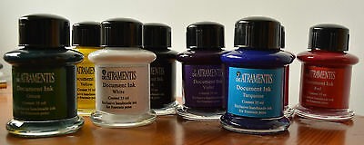 Tinta Permanente De Atramentis Varios Colores 35 Ml. De Atramentis Document Ink