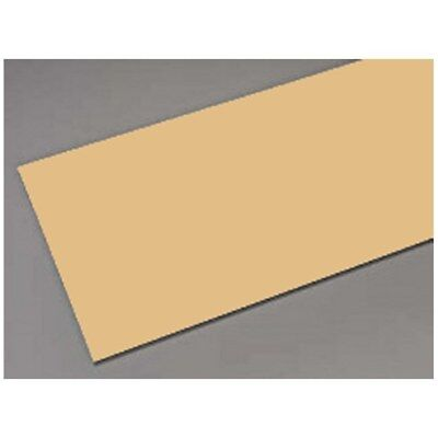 Metal Sheet for Craft and Hobby Work 10'' x 4'' - Aluminium, Brass or Tin