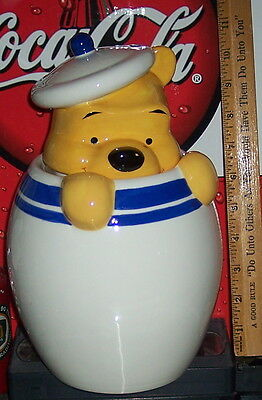 Winnie The Pooh Cookie Jar No Chips Or Cracks  Beautiful Piece