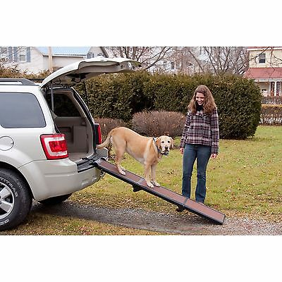 Pet Gear Travel-Lite Tri-Fold Pet Ramp for cats and dogs up to 200-pounds NEW