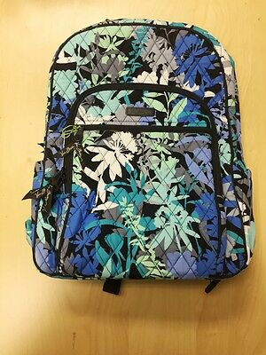 VERA BRADLEY Campus large Fabric Backpack in camofloral