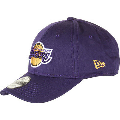 New Era 9forty Nba Team Mens Headwear Cap - Los Angeles Lakers One Size